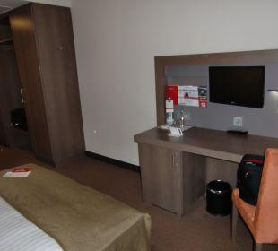 Schreibtisch und... in Zimmer 111 InterCityHotel Darmstadt