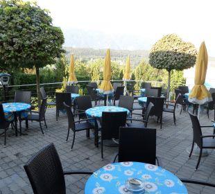 Gemütliche Terrasse Hotel Klein
