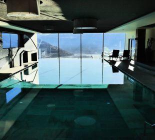 Geschmackvoller und ruhiger Pool Alpin & Relax Hotel Das Gerstl