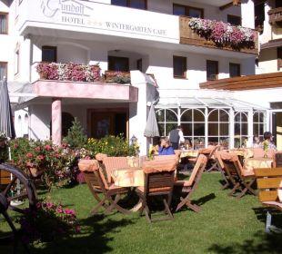 Hotelterrasse Hotel Gundolf