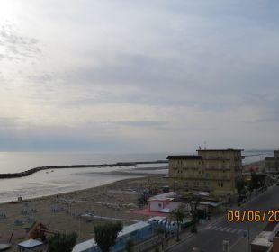 Blick vom Balkon  Hotel Palos
