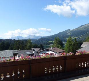 Blick vom Balkon aus Hotel Waldhaus am See