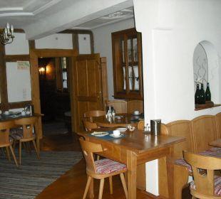 Frühstücksraum Hotel Meisnerhof