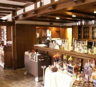 Bar im Restaurant Hotel Werbetal