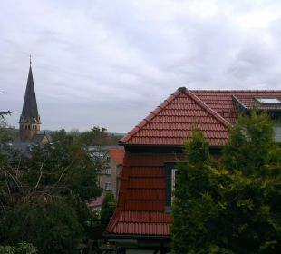 Blick von der oberen Terrasse Hotel Sonneneck