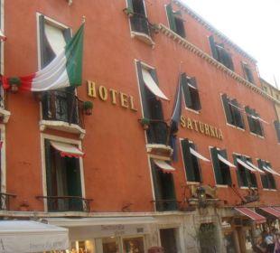 Fassade Hotel Saturnia Hotel Saturnia
