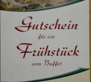 """Vielleicht einen Gutschein für ein """"Frühstück""""! Gasthaus Kramerwirt"""