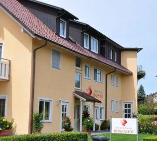 Blick auf den Rosenhof Gästehaus Rosenhof