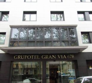Entrance Grupotel Gran Via 678