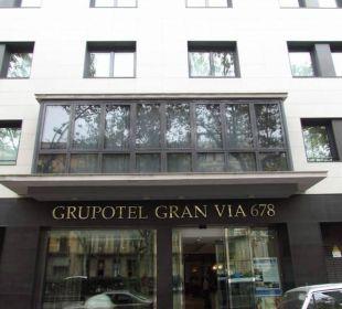 Entrance Grupotel Gran Via 678