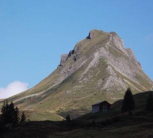 Blick auf die Mittagsspitze Berghotel Madlener