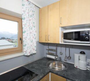 Familiensuite Angerer (74 m2) Küche Angerer Familienappartements Tirol