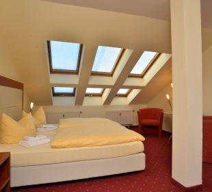 Fereienwohnung Wohn-Schlafbereich Hotel Via City