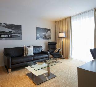 Porsche Suite Wohnbereich Best Western Hotel alte Mühle