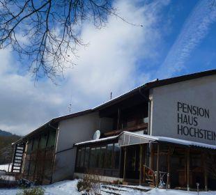 Hausansicht Pension Haus Hochstein
