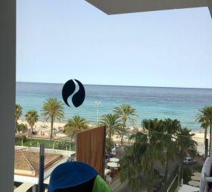Blick vom Balkon SENTIDO Playa del Moro