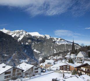 Ausblick Balkon Talseite - Sunstar Hotel Wengen Sunstar Alpine Hotel Wengen