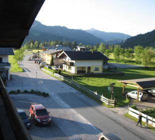 Ausblick vom Balkon Ferienhotel Martinerhof