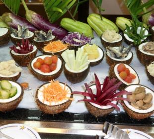 Das Salat-Büffet