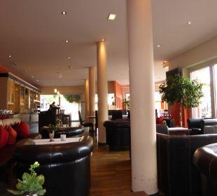 Bar und Restaurantbereich Das Hotel Eden