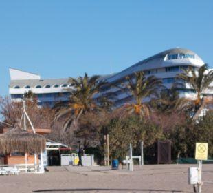 Vom Strand aus Hotel Concorde De Luxe Resort