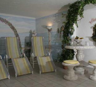 Relaxbereich Sauna Hotel Garni Krößbacherhof