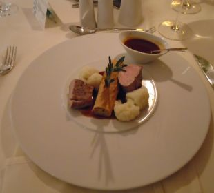 Sehr gutes essen Spa Hotel Zedern Klang