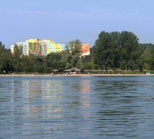 Blick vom Lübbesee AHORN Seehotel Templin