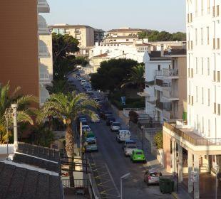 Vom Balkon aus JS Hotel Horitzó