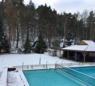 Außenpool Familotel Family Club Harz
