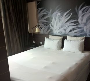 Schlafbereich Hotel Novotel Barcelona City