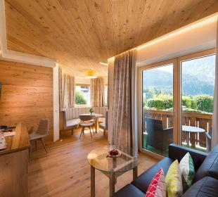 Erker-Familiensuite Verwöhnhotel Berghof
