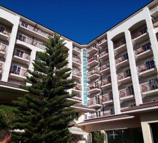 Ansicht vom Pool Sunis Hotels Elita Beach Resort & SPA
