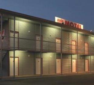 Motel bei Dämmerung FairSleep Avia Motel Gmünd Mitte