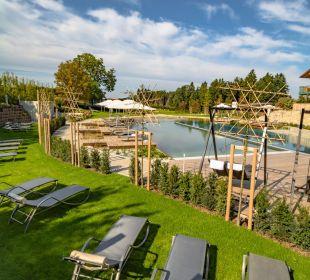 Gartenanlage Landhotel Stemp