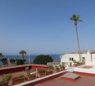 Ausblick von unserer Terrasse Bungalows & Appartements Playamar