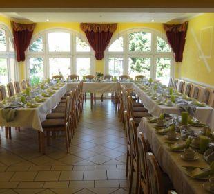 Gastraum mit Wintergarten Hotel-Pension Keller