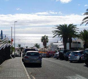 Blick auf den Strand Hotel Jable