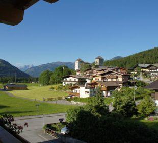 Der Blick vom Balkon Zimmer 202 Hotel Vier Jahreszeiten