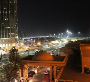 Aussicht 4. Etage Richtung Sofitel/ Marina Mall Sheraton Hotel & Resort Abu Dhabi