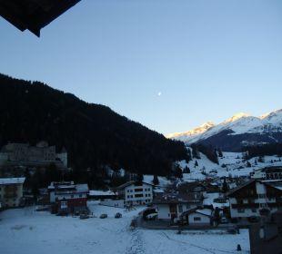 Blick am Morgen Richtung Schweiz