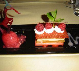 Dessert Romantik Seehotel Sonne
