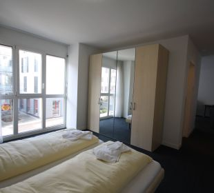 Bedroom HITrental Zugersee Apartments