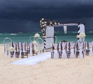 Hochzeit am Strand Now Larimar Punta Cana