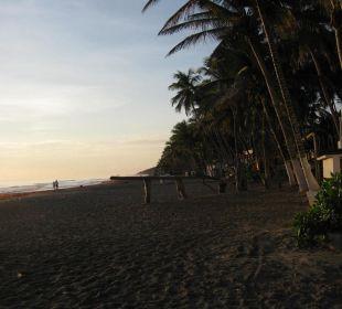 Strand El Agua Richtung Süden Hotel Costa Linda