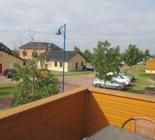 Blick ins Feriendorf Seepark Auenhain
