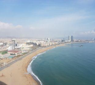 Ausblick  W Barcelona Hotel