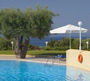 Swimming pool-sea view Acrotel Elea Village