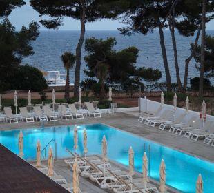 Pool zur Strandseite IBEROSTAR Santa Eulalia (Im Umbau/Renovierung)