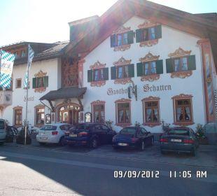 Frontseite  AKZENT Hotel Schatten